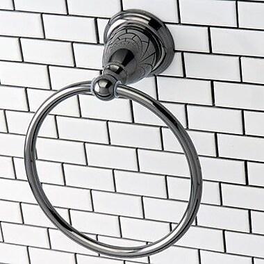 Kingston Brass Water Onyx Wall Mounted Towel Ring