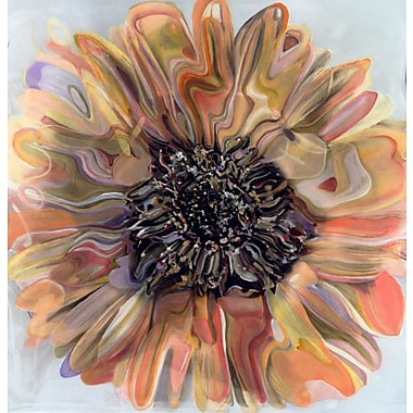 HadleyHouseCo Daisy by Polly Norman Painting Print on Wrapped Canvas; 10'' H x 10'' W x 1.5'' D
