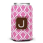 Dabney Lee Lucy Single Initial Can Beverage Sleeve; J