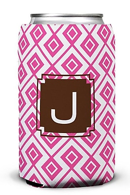 Dabney Lee Lucy Single Initial Can Beverage Sleeve; T