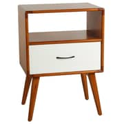 Porthos Home Andrew End Table; White