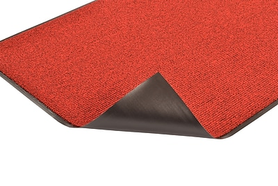 Superior Manufacturing NoTrax Estes Mat, 4' x 6', Red/Black (132S0046RB)