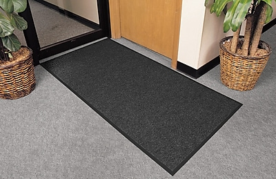 Superior Manufacturing NoTrax Polynib Mat, 3' x 6', Charcoal (136S0036CH)