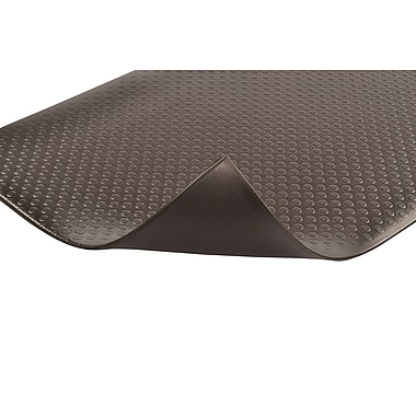 Superior Manufacturing NoTrax Bubble Sof-Tred, 3' x 12', Black (417S0312BL)