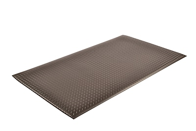 Superior Manufacturing NoTrax Diamond Sof-Tred Mat, 3' x 12', Black (419S0312BL)
