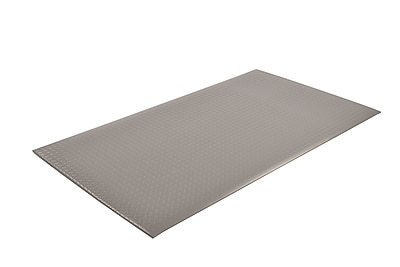 Superior Manufacturing NoTrax Diamond Sof-Tred Mat, 2' x 3', Gray (419S0023GY)