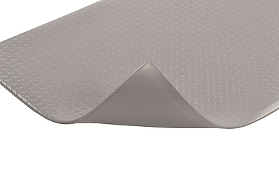 Superior Manufacturing NoTrax Diamond Sof-Tred Mat, 3' x 5', Gray (419S0035GY)