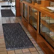 Superior Manufacturing Akro Marble Tuff Mat, 2' x 3', Black (511S0023BL)