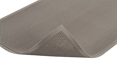 Superior Manufacturing NoTrax Web Trax Mat, 3' x 5', Gray (539S0035GY)