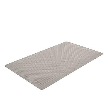 Superior Manufacturing NoTrax Cushion Trax Ultra Mat, 3'L x 5'W, Gray (975S0035GY)