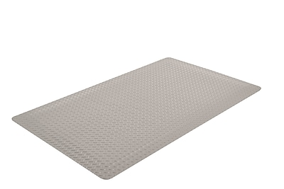 Superior Manufacturing NoTrax Cushion Trax Ultra Mat, 3'L x 5'W, Gray (975S0035GY)