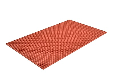 Superior Manufacturing Apex Tek-Tough Mat, 3' x 5', Red (T13S0035RD)
