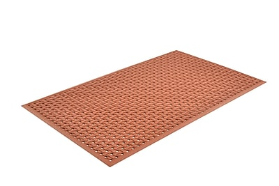 Superior Manufacturing Apex Superflow Mat, 3' x 5', Red (T18S0035RD)