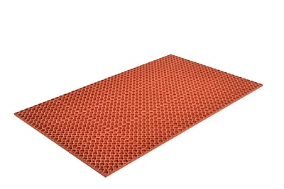 Superior Manufacturing Apex Challenger Mat, 3' x 5', Red (T25S0035RD)