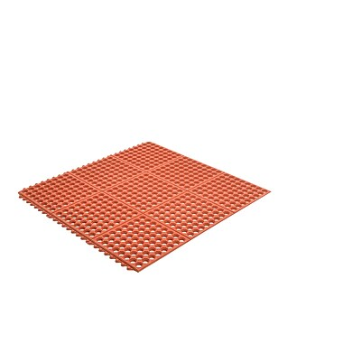 Superior Manufacturing Apex Ultra Mat, 3' x 3', Red (T32S0033RD)