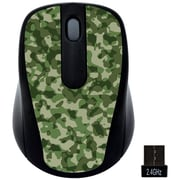Gear Head (MP2120CMO) USB Wireless Optical Nano Mouse, Camo
