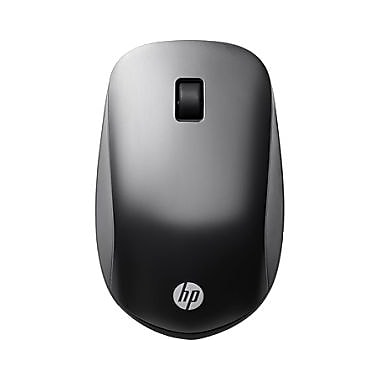 HP Slim Bluetooth Mouse, Wireless, Bluetooth, 1200 dpi, Notebook, Tablet, Computer, (F3J92UT#ABA)