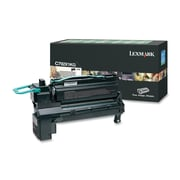 Lexmark C792X1KG Return Program Toner Cartridge, Laser, Extra High Yield, OEM, Black, (C792X1KG)