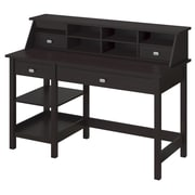Bush Furniture Broadview Collection Open Storage Desk and Organizer