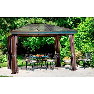 Gazebo Penguin, #43224, 4 Season Gazebo, 12' X 14'