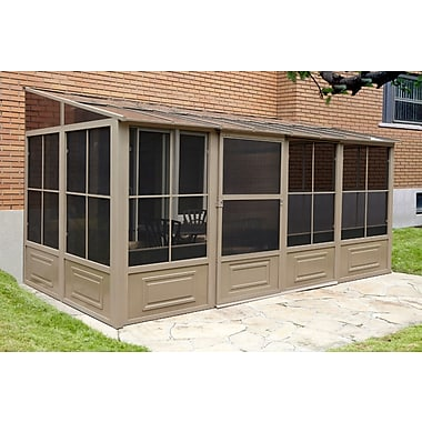 Gazebo Penguin, #W1608, Add A Room 4 Season Solarium, 8' X 16'