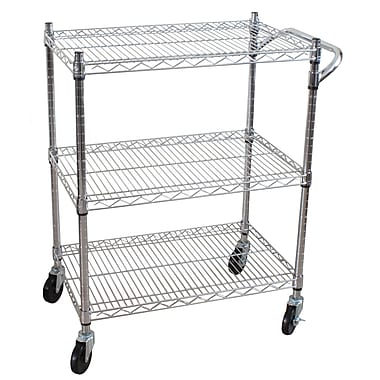 Oceanstar AUC1460 3-Tier Heavy Duty All-Purpose Utility Cart