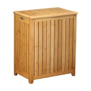 Oceanstar BRH1248 Spa-Style Bamboo Laundry Hamper
