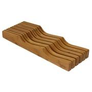 Oceanstar – Range-tout à tiroirs en bambou pour couteaux KB1354