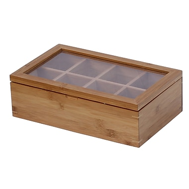 Oceanstar TB1323 Bamboo Tea Box