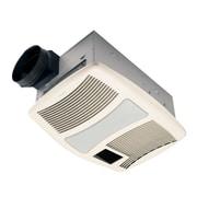 Broan Ultra Silent 110 CFM Exhaust Bathroom Fan w/ Heater and Light