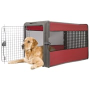 Sportpet Large Pop Open Pet Crate; Red