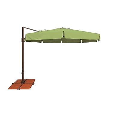 SimplyShade Bali 11' Cantilever Umbrella; Solefin / Taupe