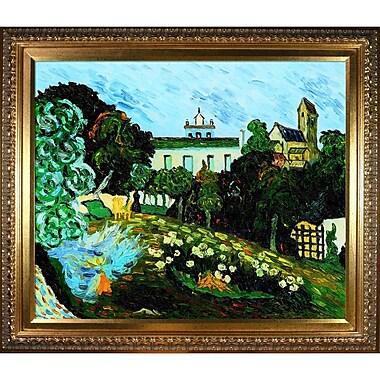 Tori Home 'Daubigny's Garden' by Vincent Van Gogh Framed Oil Painting Print on Canvas