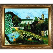 Tori Home 'Daubigny's Garden' by Vincent Van Gogh Framed Oil Painting Print on Canvas