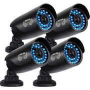 Night Owl CAM-4PK-AHD7 Wired Night Vision Indoor/Outdoor Security Bullet Camera, Black