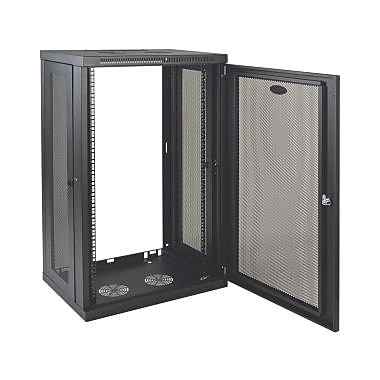 Tripp Lite SmartRack 21U WallMount StandardDepth Rack Enclosure Cabinet, (SRW21U)
