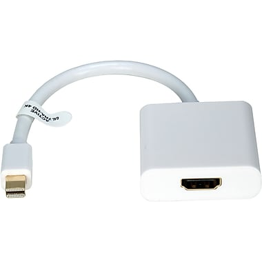 QVS (MDPH-AMF) Active 4K Ultra-HD Video/Audio Adapter, Displayport/HDMI, Black