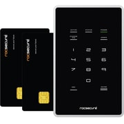 Rocstor K20AP7-BK AMPHIBIOUS X7 1TB/7200 Encrypted Smart Card Password Authentication Mobile Ruggedized Hard Drive
