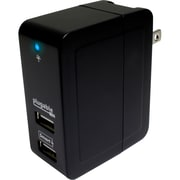 Plugable Power 2015 2-Port Smart Travel Charger, 20 W, USB (USB-C2W)