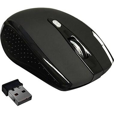 Premiertek (WM-104BK) RF/USB Wireless Optical Mouse, Black