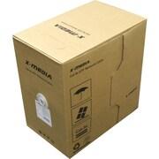 Premiertek (XM-C6-1000-GY) X-Media 1000' Cat6 UTP Network Cable, Gray