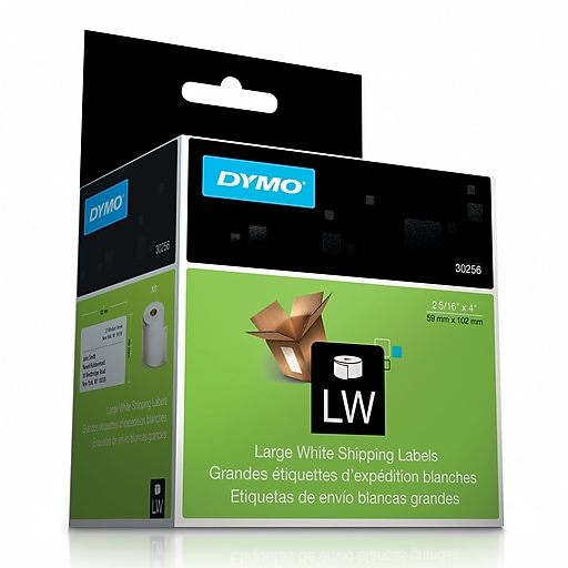 Dymo 30256 Labelwriter Self Adhesive Large Shipping Labels White