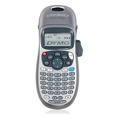 DYMO LetraTag Plus Personal Label Maker, 2-Line, Up to 0.5