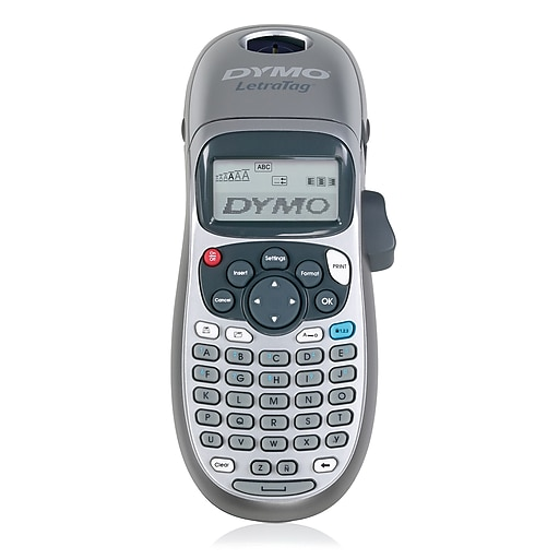Dymo Letratag Plus Personal Label Maker 2 Line Staples