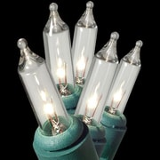 Queens of Christmas 100 Mini String Light; Clear