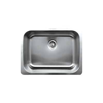 Whitehaus Collection Noah's 25'' x 19'' Single Bowl Undermount Kitchen Sink