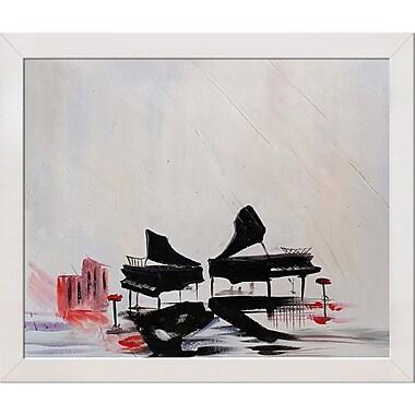 Tori Home Transience by Justyna Kopania Framed Painting Print
