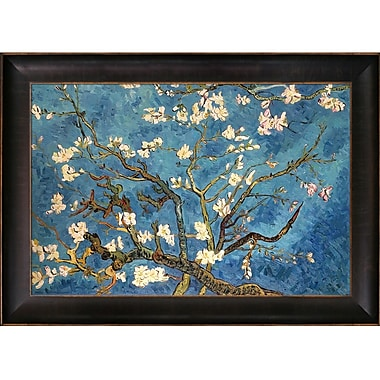 Tori Home Branches Of An Almond Tree In Blossom Hand by Vincent Van Gogh Framed Painting