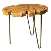Jeffan Natural End Table