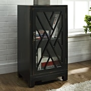 Powell Chippendale End Table; Black